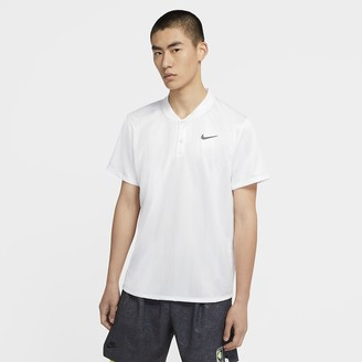 Nike Men's Printed Tennis Polo NikeCourt Dri-FIT