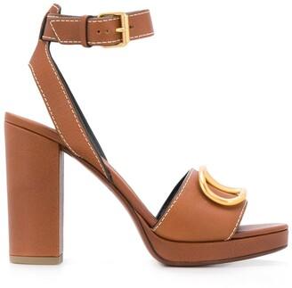 Valentino VLOGO platform sandals