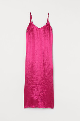 H&M Satin slip dress