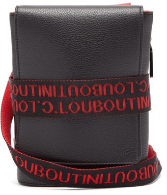 Christian Louboutin Benech Reporter Leather Cross-body Bag - Mens - Black