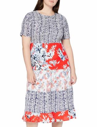 Rich & Royal rich&royal Women's Dress Long with printmix