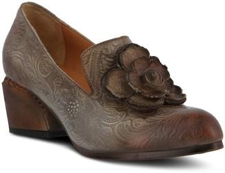 Spring Step L'Artiste by Leather Floral-DesignPumps - Noora