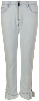MSGM Frill Jeans