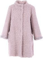 Blugirl Wool Blend Boucle Coat