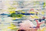 Parvez Taj Flamingo Style Canvas Wall Art
