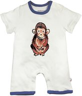 Baby Soy Modern Romper (Baby) - Chimp-0-3 Months