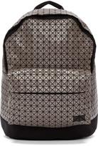 Bao Bao Issey Miyake Grey Geometric Daypack Backpack
