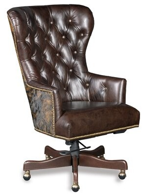 Hooker Furniture Katherine Genuine Leather Executive Chair