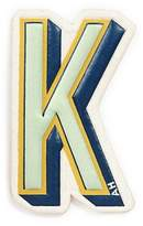 Anya Hindmarch x Chaos Fashion 'K' alphabet leather sticker