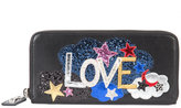 Saint Laurent Love wallet - women - Leather - One Size