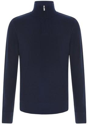 Gant Halfcomb Half Zip Sweater