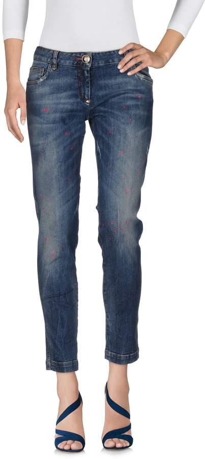 Philipp Plein Denim pants - Item 42619175