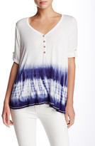 Blu Pepper Dip-Dyed Blouse