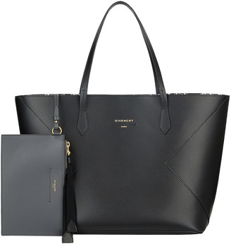Givenchy Wing Shopping Bag in Black & White | FWRD