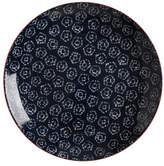 Maxwell & Williams Boho Plate Shibori Navy 27cm