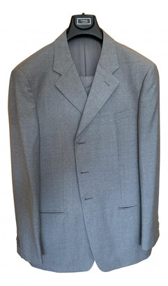 Armani Collezioni Grey Wool Suits