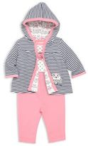 Offspring Baby's Three-Piece Jacket, Bodysuit & Pants Set