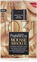 L'Oreal Superior Preference Mousse Absolue, 1031 Lightest Golden Blonde