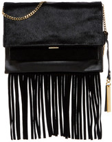 Vince Camuto Amele Genuine Calf Hair Shoulder Bag