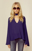 Blue Life all nighter blouse