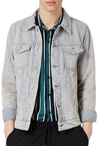 Topman Acid Wash Denim Jacket