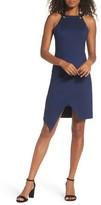 Adelyn Rae Women's Brandi Tie Back Sheath Dress