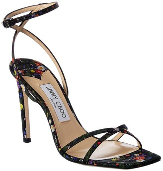 Jimmy Choo Metz 100 Leather Sandal