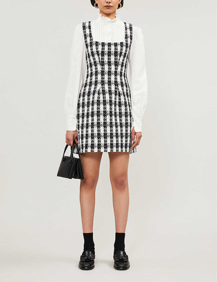 Maje Rocky boucle mini dress