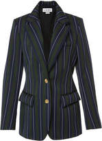 Loewe Striped Wool and Cotton-Blend Blazer