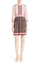 Kate Spade Women's Floral Tile Minidress