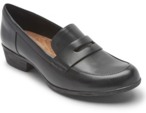 Rockport Women's Carly Moc-Toe Penny Loafers Women's Shoes