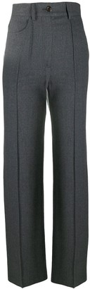 See by Chloe High-Waisted Tailored Trousers