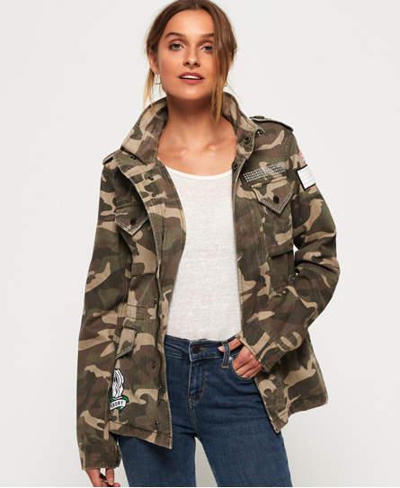 940261b2f44 Rookie Embellished Military Jacket