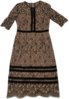 Hobbs Pink Cotton Dress for Women