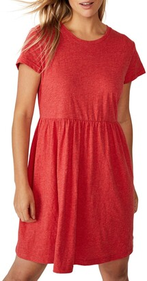 Cotton On Tina Babydoll T-Shirt Dress