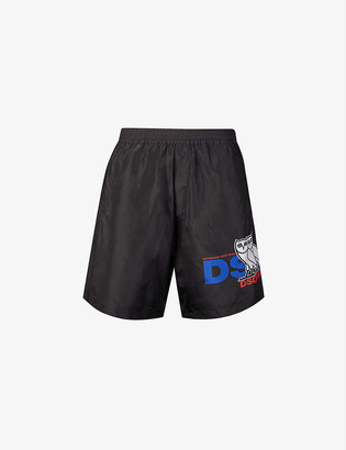 DSQUARED2 x OVO shell shorts