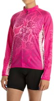 Canari Autumn Cycling Jersey - UPF 30+, Full Zip, Long Sleeve (For Women)