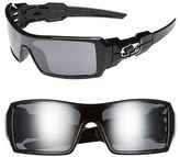 Oakley Men's 'Oil Rig' 63Mm Sunglasses - Polished Black/ Silver