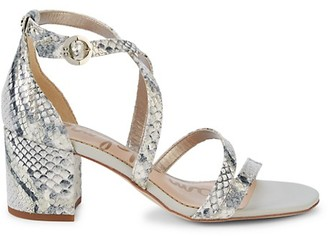 Sam Edelman Summer in the City Stacie Block Sandals