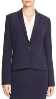 T Tahari Carina Single Button Blazer