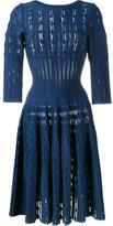 Alaia boat-neck knit dress