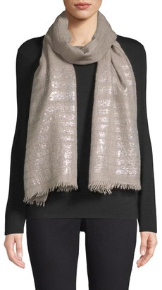 Bindya Striped Cashmere Evening Stole
