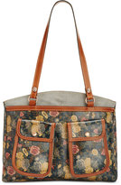 Patricia Nash Fields Belver Top Zip Tote