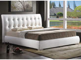 Asstd National Brand Baxton Studio Jeslyn Modern Bed with Tufted Headboard