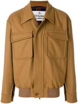 Vivienne Westwood fitted flap pocket jacket