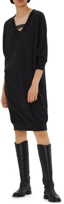 Brunello Cucinelli Cashmere & Silk Sweater Dress