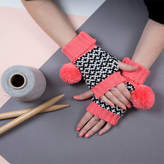 Lowie Salmon Graphic Fingerless