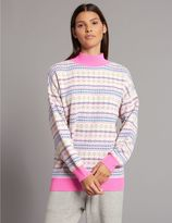 Marks and Spencer Pure Cashmere Fairisle Print Jumper