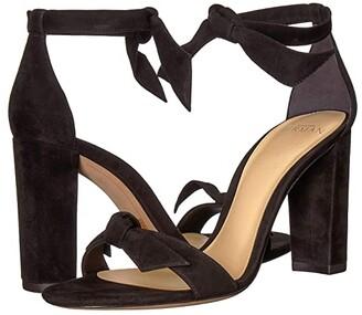 Alexandre Birman Clarita Block 90 (Black Fabric) High Heels