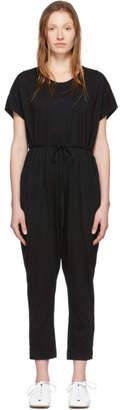 Raquel Allegra Black Jersey Jumpsuit